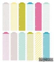 Разделители Project Life by Becky Higgins - Designer Dividers - Blush Edition