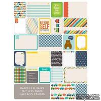 Мини-набор Project Life by Becky Higgins - Themed Cards - Boys, 60 шт