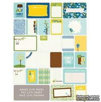 Мини-набор Project Life by Becky Higgins - Themed Cards - Family, 60 шт