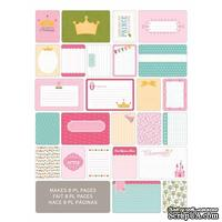 Мини-набор Project Life by Becky Higgins - Themed Cards - Princess, 40 шт