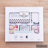 Набор карточек Project Life by Becky Higgins - Core Kit - September Skies, 576 штук