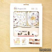 Набор карточек Project Life by Becky Higgins - Value Kit - Little You Girls, 130 элементов