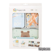 Набор карточек Project Life by Becky Higgins - Value Kit - Lullaby Boy, 119 элементов