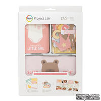 Набор карточек Project Life by Becky Higgins - Value Kit - Lullaby Girl, 120 элементов