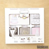 Набор карточек Project Life by Becky Higgins - Core Kit - Modern Wedding, 616 штук