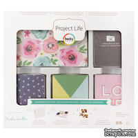 Набор карточек Project Life by Becky Higgins - Core Kit - CK Snapshots, 616 штук