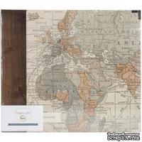 Альбом на кольцах Project Life by Becky Higgins - Albums - 12x12 - D-Ring - Travel