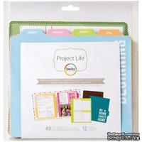 Набор Project Life by Becky Higgins -  Planner Pages- 49 Pages and 12 Dividers
