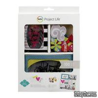 Мини-набор Project Life by Becky Higgins - Mini Kit - Heidi Swapp -Clear