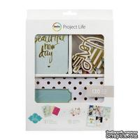 Мини-набор Project Life by Becky Higgins - Mini Kit - Heidi Swapp - Gold Foil