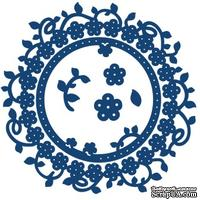 Нож для вырубки от Tattered Lace - Floral interlocking die -Цветочный круг