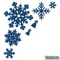 Нож для вырубки от Tattered Lace - Snowflakes - Снежинки