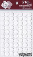 Объемные клеевые кружочки Adhesive Dots, толщина 2мм