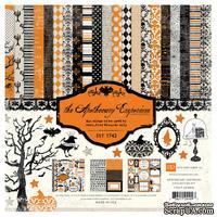 Набор бумаги от Echo Park  - Apothecary Emporium, 30х30см, 12+2 листов