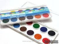 Краски акварельные-мини от TM EK, 12 цветов