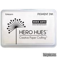 Пигментные чернила Hero Arts - Pigment Ink - Unicorn, цвет белый