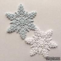 Декор ажурный - Снежинки от Allmacrfat, цвет на выбор, 2 шт.