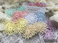 Декор ажурный - хризантема от Allmacrfat, цвет на выбор, в наборе 4 шт.