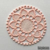 Декор ажурный - мини-салфеточка от Allmacrfat, цвет на выбор, 10 см, 1 шт