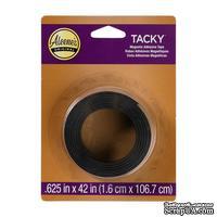 Магнитная лента на клеевой основе Aleene's Magnetic Tacky Tape, ширина 1.6 см, длина 106 см