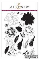 Набор штампов от Altenew - Peony Bouquet Stamp Set, 24 шт
