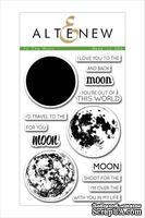 Набор штампов от Altenew - To the Moon Stamp & Die Bundle, 14 штампов