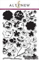 Набор акриловых штампов от Altenew - Vintage Flowers, 24 x 16 см, 43 шт