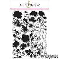 Набор штампов от Altenew - Vintage Roses, 15,2x20,3 см, 55 шт