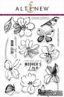 Набор акриловых штампов от Altenew - Wild hibiscus, 24x16 см