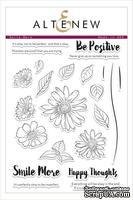 Набор штампов от Altenew - Smile More Stamp Set- Улыбайся больше, ALT1510