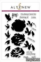 Набор штампов от Altenew - Painted Rose Stamp Set- Роза