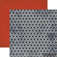 Лист скрапбумаги Authentique Secure, 30х30 см, двусторонняя
