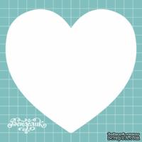 Заготовка для мини альбома от Вензелик - Альбом - сердечко, размер: 130x130 мм, толщиной 1,2 мм