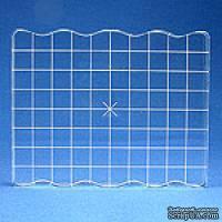 Акриловый блок для штампинга специальной формы с разметкой Apple Pie Memories, размер 7,5х10 см - ScrapUA.com