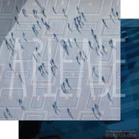 Бумага для скрапбукинга от Артелье - Броуновское движение, 30,5х30,5 см