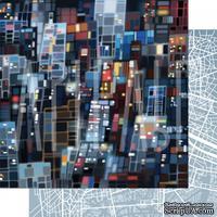 Бумага для скрапбукинга от Артелье - Они большого города, 30,5х30,5 см