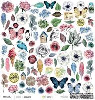 Бумага для скрапбукинга от Артелье - Весна, 30,5х30,5 см