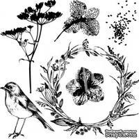 Набор штампов от Артелье - «PHOTOсинтез». Размеры в см: 8x8.