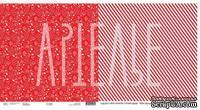 Лист скрапбумаги от Артелье - ZIMAлогия - Ёлки-палки, 30x30см