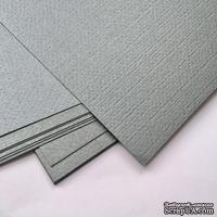 Картон с металлизированным эффектом Sirio pearl merida gray, 30х30, серый темный, 290 г/м2, 1 шт.