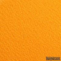 Дизайнерский картон с легкой фактурой Tintoretto ceylon curry, размер: 30х30 см, цвет: желтый, плотность: 250 г/м2, 1 шт