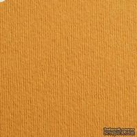 Дизайнерский картон с фактурой вельвета Nettuno camoscio, размер: 30х30 см, цвет: коричневый светлый, плотность: 280 г/м2, 1 шт
