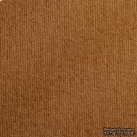 Дизайнерский картон с фактурой вельвета Nettuno tabacco, размер: 30х30 см, цвет: коричневый светлый, плотность: 280 г/м2, 1 шт
