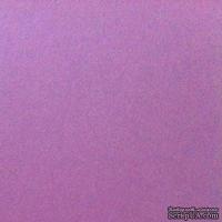 Дизайнерский картон Malmero violette, 30х30, сиреневый, 250 г/м2
