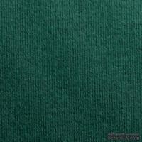 Картон с фактурой вельвета Dali verde pino, размер: 30х30 см, цвет: зеленый темный, плотность: 285 г/м2, 1 шт