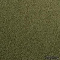 Дизайнерский картон с легкой фактурой Tintoretto ceylon wasabi, размер: 30х30 см, цвет: зеленый болотный, плотность: 250 г/м2, 1 шт
