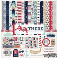 Набор двусторонней бумаги Carta Bella - Ahoy There - Collection Kit, 30х30 см
