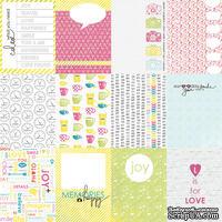 Лист бумаги от Lemon Owl, коллекция - Around the Corner, Mini cards EN, 30x30, 402145