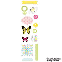 Набор высечек от Lemon Owl, коллекция - Around the Corner, Die Cuts #02RU, 402124 - ScrapUA.com