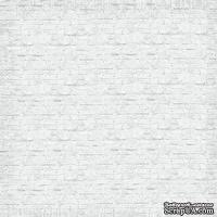 Лист бумаги от Lemon Owl, коллекция - Around the Corner, Brick wall, 402102